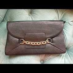 Large clutch Large black boutique clutch. Never used. Bags Clutches & Wristlets
