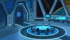 Spaceship Interior, Futuristic Interior, Futuristic City, Futuristic Technology, Futuristic Architecture, Technology News, Anime Places, Sci Fi Spaceships, Sci Fi Environment