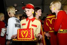 Moschino is selling the taste of McDonalds