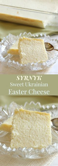Syrnyk - this Sweet Ukrainian Easter Cheese is an old family recipe for a holiday side dish or dessert   cupcakesandkalechips.com