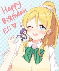 「Happy birthday Eli!」/「moorina」のイラスト [pixiv]