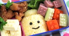 Lego Bento box will delight any little Lego lover (and put your lunches to shame!) #Lego, #LunchBoxes, #MealTime, #School, #Video