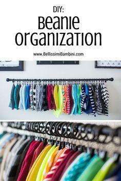 Bellissimi Bambini: DIY Beanie Organization: How to Display & Organize Your…