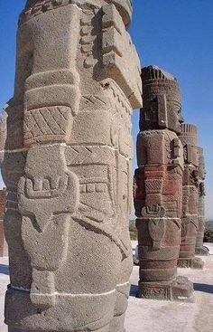 Toltec Giant's of Tula, Mexico