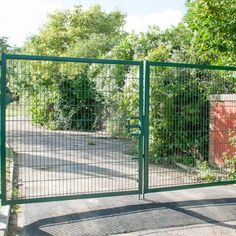 Double Swing Gate – Double Leaf Design, Perfect for All Entry Purposes Driveway Entrance, Entrance Gates, Palisade Fence, Side Gates, Double Swing, Mesh Fencing, Gate Latch, Steel Fence, Chain Link Fence