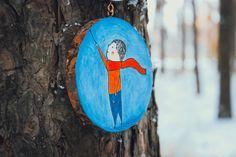 Когда деревья носят украшения.  #этноспб  #жизнь #творчество