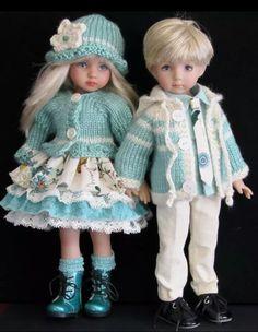 Handmade sets made for Effner Little Darling dolls