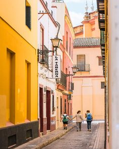 Seville Photography, Seville Wall Art Print, Spain Photography, Spanish Family Print, Seville Town, Spanish Architecture, Seville Print