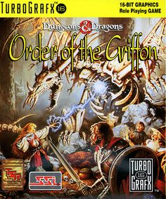 Order of the Griffon (USA) #retrogaming #turbografx
