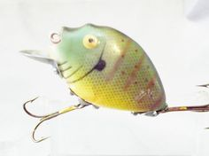 Vintage Heddon Punkinseed Fishing Lure found in old antiqueTackle Box Antique