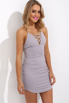 Honne Dress, Grey, $65 + Free express shipping http://www.hellomollyfashion.com/honne-dress.html