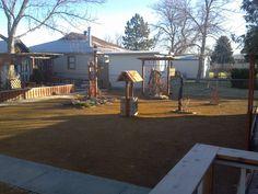 Granite down 4th Ave laurel back yard