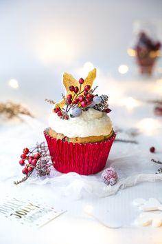 Christmas cupcake, muffiny świąteczne