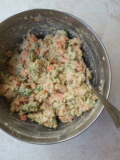 Mashed Chickpea Salad for sandwiches PINNER'S NOTE: This is really good. The veggies add the perfect crunch. Would also be good with a hard boiled egg thrown in.
