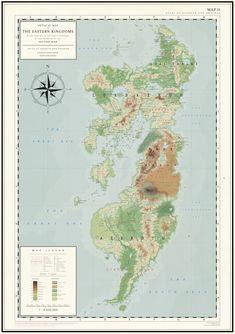 Eastern Kingdoms Before the Second War (Map II) by Kuusinen