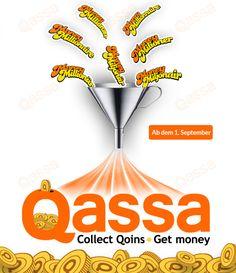 #MoneyMillionär in Zukunft unter dem international einheitlichen Namen #Qassa auftreten.  http://geld-verdienen-exklusiv.de/moneymillionaer-wird-umbenannt-in-qassa/