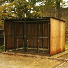 Recycle Shelter with gates