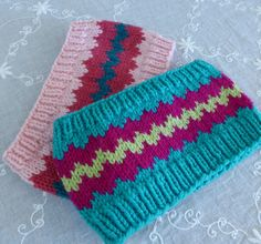 Free Knitting Patterns for Ziggyzag Headbands