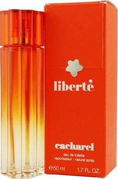Liberte By Cacharel For Women. Eau De Toilette Spray 1.7-Ounces by Cacharel. $20.82. Packaging for this product may vary from that shown in the image above. This item is not for sale in Catalina Island. Launched by the design house of Cacharel in 2007, LIBERTE is a women's fragrance that possesses a blend of Vetiver, Flower, Patchouli, Mandarin, Bergamot, VanillaWhenapplyingany fragrance please consider that there are several factors which can affect the natural smell of you...