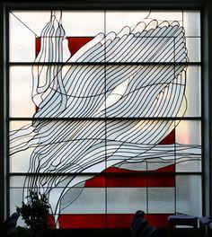 Ludwig Schaffrath (1924 – 2011), Mosaic Art, Mosaic Glass, Mosaics, Modern Stained Glass, Stained Glass Art, Leaded Glass Windows, Glass Panels, Cathedral Windows, Cast Glass