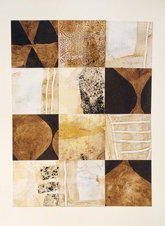 "dailyartjournal:    Marc Cinq-Mars, ""Multum In Parvo"", mixed media, collage on paper"
