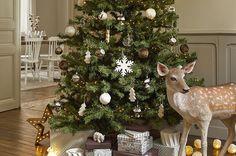 decorar el árbol de Navidad maisons arbolcon bambi