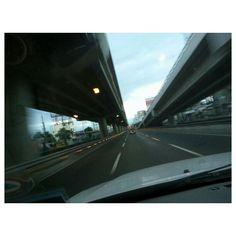 #blacksaturday な今日もガラッガラッ!! #smooth no #traffic at all!! #morning#drive#highway#roadtrip#holyweek#holidays#philippines#フィリピン#ドライブ