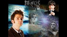 Tenth Doctor Windows in Time A Journey in Time with Ten, with images created by me