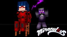 Minecraft: HAWK MOTH ATACOU A LADYBUG! - MIRACULOUS AS AVENTURAS DE LADY...