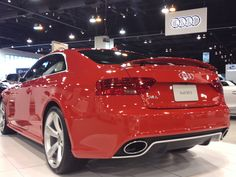 #Audi #RS5 coupe at 2012 Denver Auto Show by #tflcar