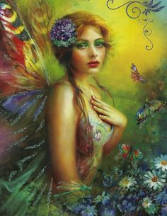 If a fairy takes you into her sphere of guardianship, she will watch carefully for any obstacles in your path and work tirelessly to remove them...the fae, both male and female, are as strong and wise as they are clever and beautiful...lucky is the soul who becomes the object of their protection and care...*
