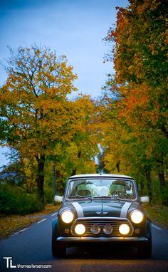 Mini Cooper by larsen on deviantART - Love Cars & Motorcycles Mini Cooper Classic, Mini Cooper S, Classic Mini, Classic Cars, Ferrari, Lamborghini, Porsche, Jaguar, Mini Morris