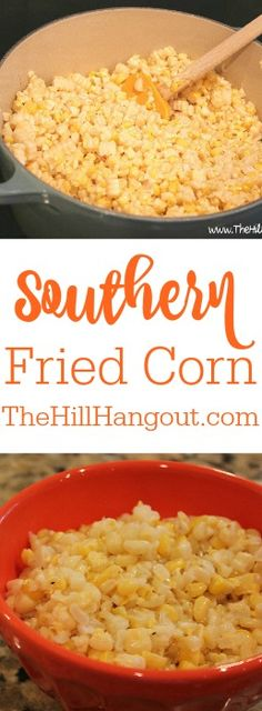 Southern Fried Corn from TheHillHangout.com