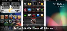 iPhone iOS 5 and iphone 4s themes