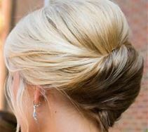 elegant updo for fine hair Twisty Updo For Fine Hair With a light bouffant and all the ends tucked inside your updo, you can create a perfect illusion of thick hair styled in the most sophisticated way. This hairdo features a twist and fabulous curvy l My Hairstyle, Pretty Hairstyles, Wedding Hairstyles, Wedding Updo, Stylish Hairstyles, Twist Hairstyles, Hairstyles Haircuts, Evening Hairstyles, Hairstyle Pictures