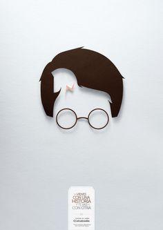 Publicidad de lectura Harry potter - Don Quijote