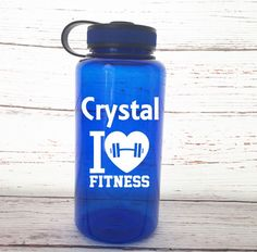 Fitness Tumbler - I Love Fitness Tumbler - Exercise Tumbler - Gift for Personal Trainers - I Love Fitness - Personalized Fitness Tumbler by SimplyGracefulDesign on Etsy