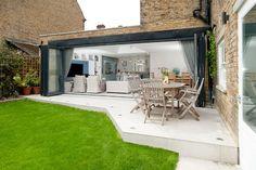 aluminium bifold doors on victorian house - Google Search