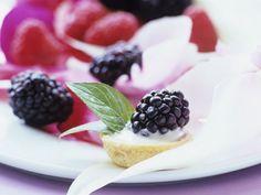 Mürbteigküchlein (Tartlet) mit cremigem Vanille-Brombeer-Belag ist ein Rezept mit frischen Zutaten aus der Kategorie Mürbeteig. Probieren Sie dieses und weitere Rezepte von EAT SMARTER!
