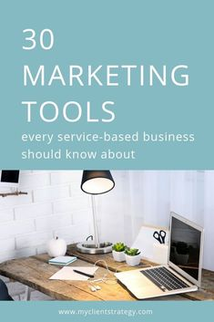 Marketing tools every service-based business should know about Check out this list of 30 brilliant small business marketing tools that will help you reach more clients, save time and improve your business productivity.Brilliant Brilliant may refer to: Marketing Strategy Template, Content Marketing Tools, Marketing Budget, Small Business Marketing, Marketing Plan, Business Tips, Marketing Process, Media Marketing, How To Get Clients