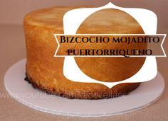 Como hacer un bizcocho mojadito puertorriqueño//Boricua cake (Diorizella)