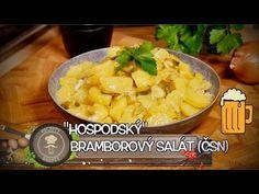 JEDNODUCHÝ HOSPODSKÝ BRAMBOROVÝ SALÁT (ČSN) - YouTube Cantaloupe, Fruit, Food, Youtube, Kitchens, Drinks, Essen, Meals, Yemek