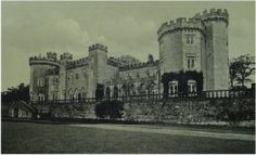 Shanbally Castle, Co. Tipperary - castle was demolished in 1957