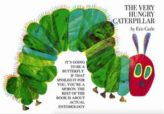 """I love this take on """"The Very Hungry Caterpillar"""""""