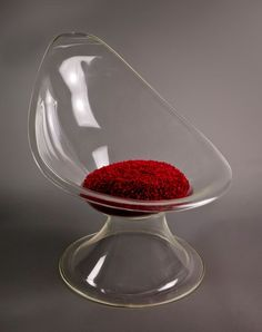 """Design I Love: Erwine and Estelle Laverne """"Acylic Chair (Lily Chair)"""" 1957   The MCB Project"""