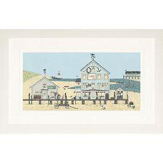 Buy Sally Swannell- Lobster Pot Large Framed Print, 47 x 78cm Online at johnlewis.com