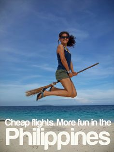 CHEAP FLIGHTS. More FUN in the Philippines!