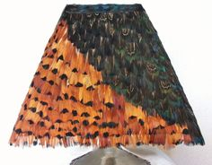 Pheasant feather shade