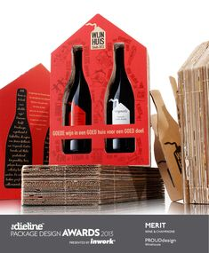 The Dieline Package Design Awards 2013: Wine & Champagne, Merit - Winehouse - The Dieline -