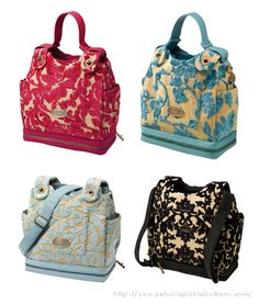 This is my wish list diaper bag but I don't think it's going to happen. It's EXPENSIVE but I think they're very cute. I could always use it as a purse later. ;)